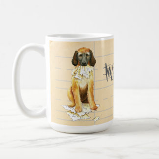 My Afghan Hound Ate my Homework Coffee Mug