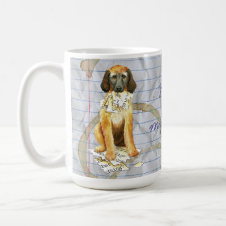 My Afghan Hound Ate my Lesson Plan Coffee Mug