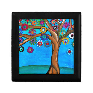 MY ALLY TREE OF LIFE WHIMSICAL PAINTING GIFT BOX