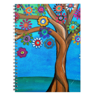 MY ALLY TREE OF LIFE WHIMSICAL PAINTING NOTEBOOK