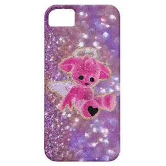 My Angel... Purple Glitter iPhone 5 Case