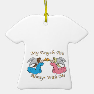 My Angels Are Always With Me Ornament
