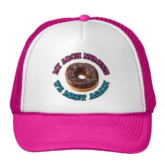My arch nemesis...the evil doughnut! cap