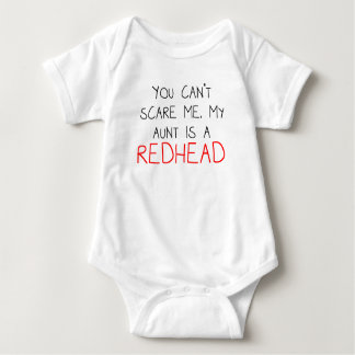My Aunt Is A Redhead Baby Bodysuit