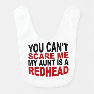 My Aunt Is A Redhead Bib