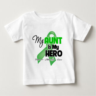 My Aunt is My Hero - Kidney Cancer Baby T-Shirt