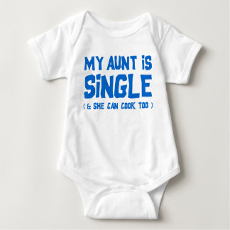 My Aunt is Single Baby Bodysuit
