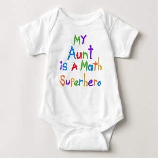 My Aunt Math Superhero T-shirts and Gifts