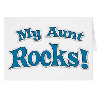 My Aunt Rocks! Card