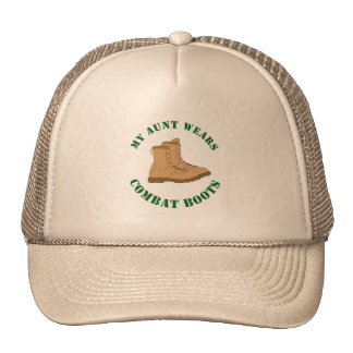 My Aunt Wears Combat Boots - Hat