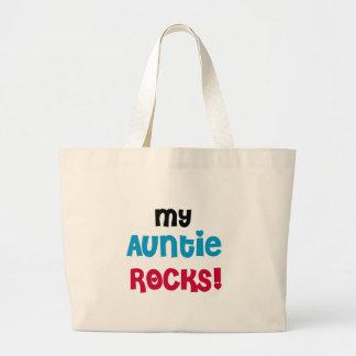 My Auntie Rocks Jumbo Tote Bag