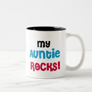My Auntie Rocks Two-Tone Coffee Mug
