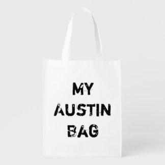 My Austin TX Reusable Grocery No Plastic Bag City