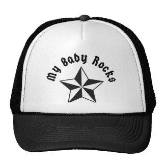 My Baby Rocks Trucker Hats
