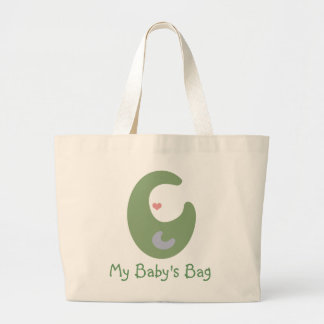 My Baby's Bag (Sage Green)_Tote Bag