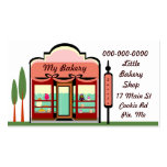MY BAKERY SHOP PACK OF STANDARD BUSINESS CARDS