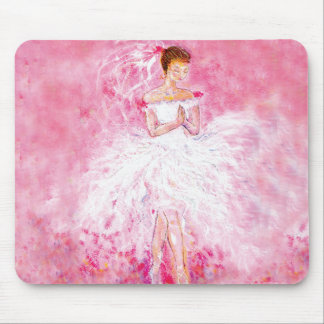 My Ballet Dream Wedding Mouse Pad