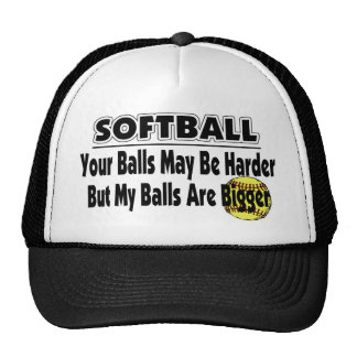 My Balls Are Bigger Trucker Hats