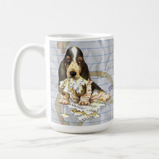 My Basset Ate my Lesson Plan Coffee Mug