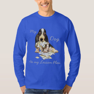My Basset Ate My Lesson Plan T-Shirt