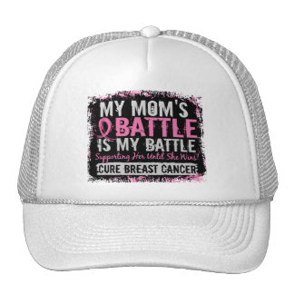My Battle Too 2 Breast Cancer Mom Hats