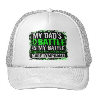 My Battle Too 2 Lymphoma Dad Cap
