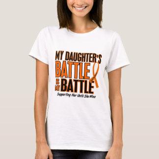 My Battle Too Daughter Leukemia T-Shirt