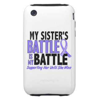 My Battle Too Sister Esophageal Cancer Tough iPhone 3 Covers