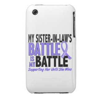 My Battle Too Sister-In-Law Esophageal Cancer iPhone 3 Case-Mate Cases