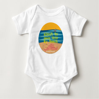 My Beach - Martha's Vineyard Baby Romper Baby Bodysuit