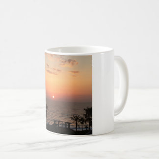 My beach sunrise mug