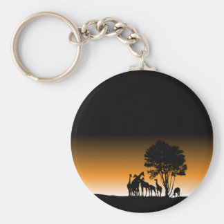 My Beautiful Africa Basic Round Button Key Ring