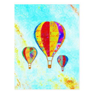 My Beautiful Balloons postcard