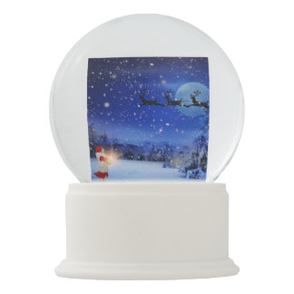 """""""MY BEAUTIFUL CHRISTMAS NIGHT"""" SNOW GLOBE"""