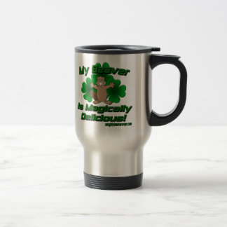 My Beaver Is Magically Delicious Coffee Mugs