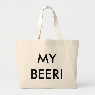 My Beer! Large Tote Bag