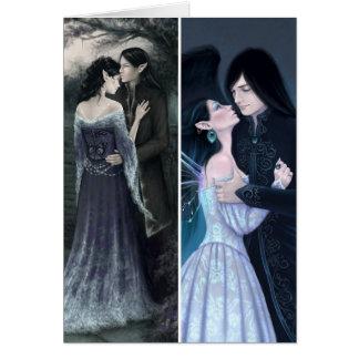My Beloved & Sapphire Fairy Bookmark Card
