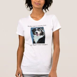 My Bernese...smarter than your honor student. Tees