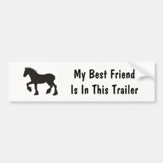 My Best Friend Bumper Sticker