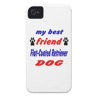 My best friend Flat-Coated Retriever Dog iPhone 4 Covers