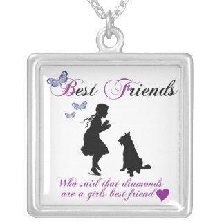 My best friend my dog custom jewelry