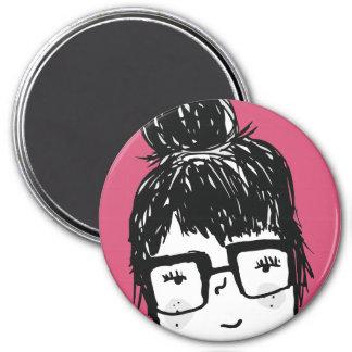 My Best Friend Sara 7.5 Cm Round Magnet