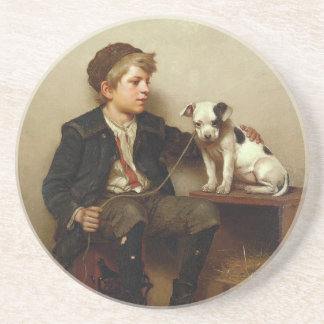 My Best Friend, Shoe Shine Boy & Puppy Dog Drink Coasters