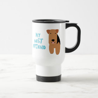 My Best Friend Welsh Terrier Coffee Mug