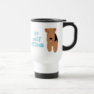 My Best Friend Welsh Terrier Travel Mug