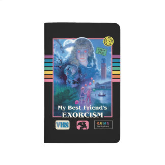My Best Friend's Exorcism Vintage VHS Cover Journal