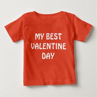 My Best Valentine Day Baby T-Shirt