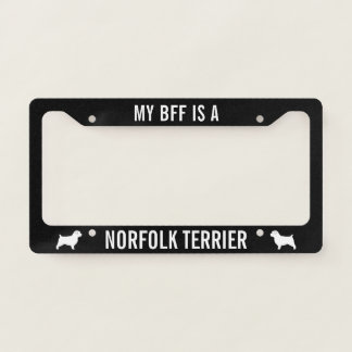 My BFF is a Norfolk Terrier - Silhouettes Custom