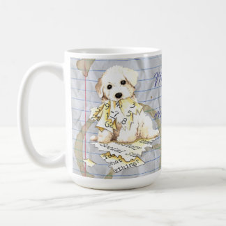My Bichon Ate My Lesson Plan Coffee Mug