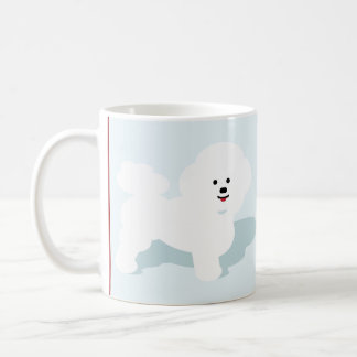 My Bichon Makes My Day Mug
